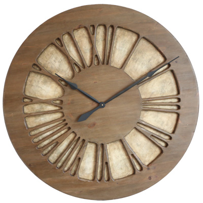 Oversized Handmade Centrepiece Wall Clock