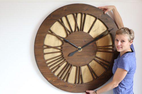 Beautiful Handmade Wall Clock