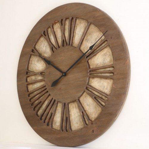 Duży Zegar Ozdobny z prawej strony