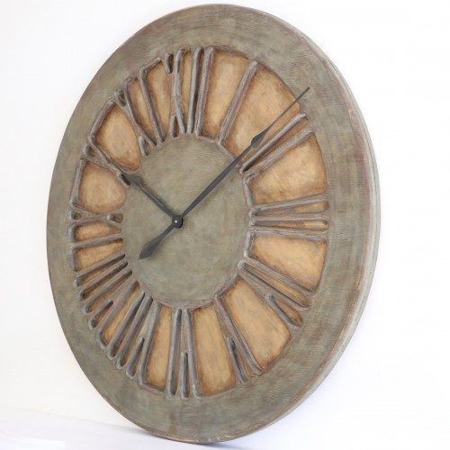 French Wall Clock in Shabby Chic Style