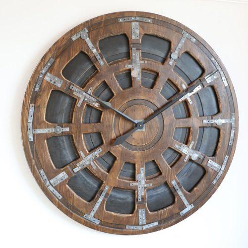 Oryginalny Zegar w Stylu Industrialnym