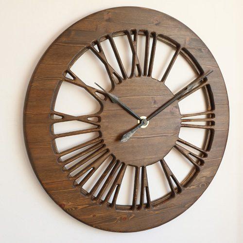 Vintage Skeleton Clock Handmade