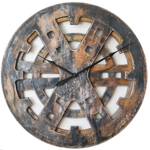 Large Industrial Clock
