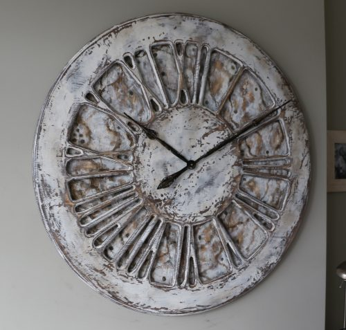 extraordinary and unique shabby chic clock
