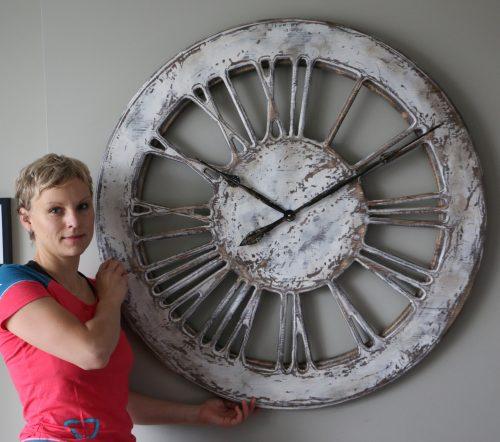 Large Skeleton Wall Clock