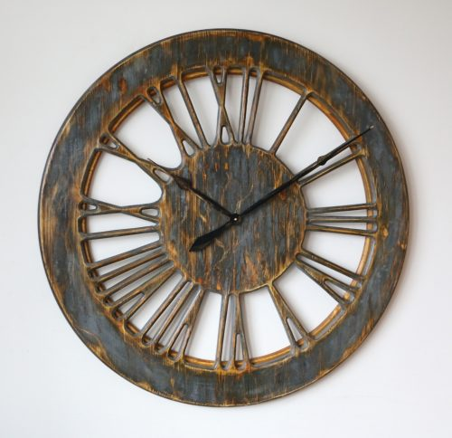 kitchen wall clock with roman numerals