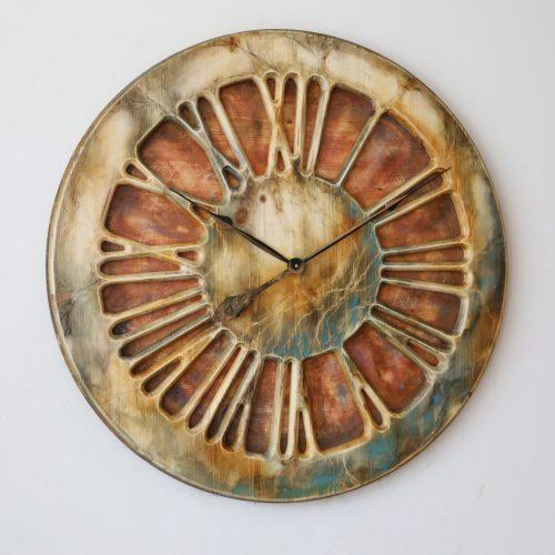 Maßgefertigte Designeruhr mit römischen Ziffern