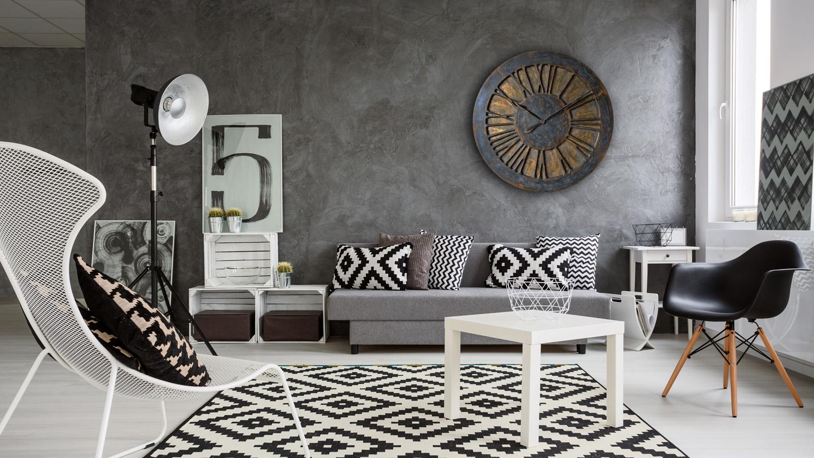 Beautiful Large Decorative Wall Clock interiors