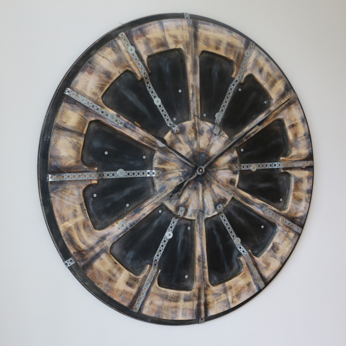 Industrial Style Clock Left