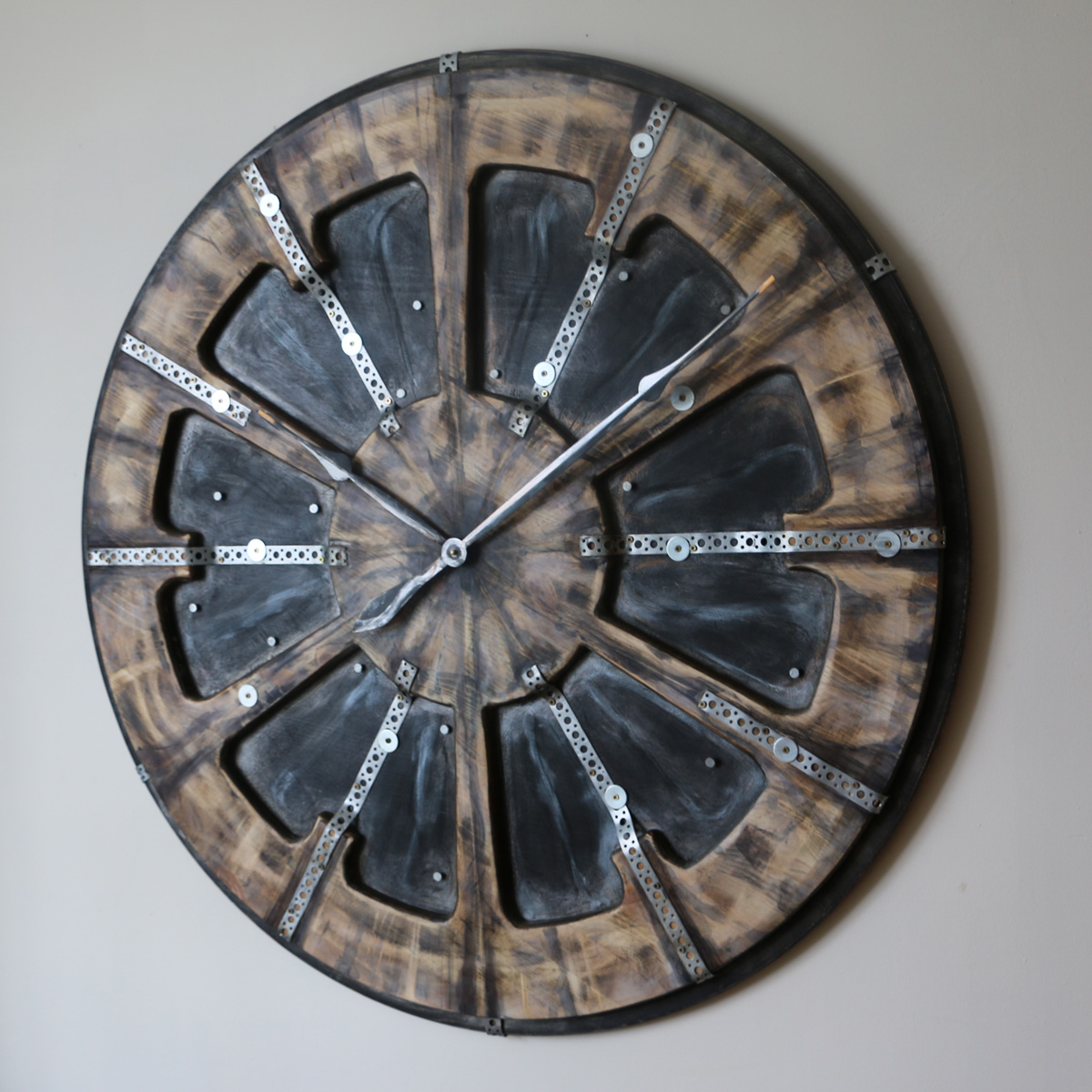 Industrial Style Clock Right