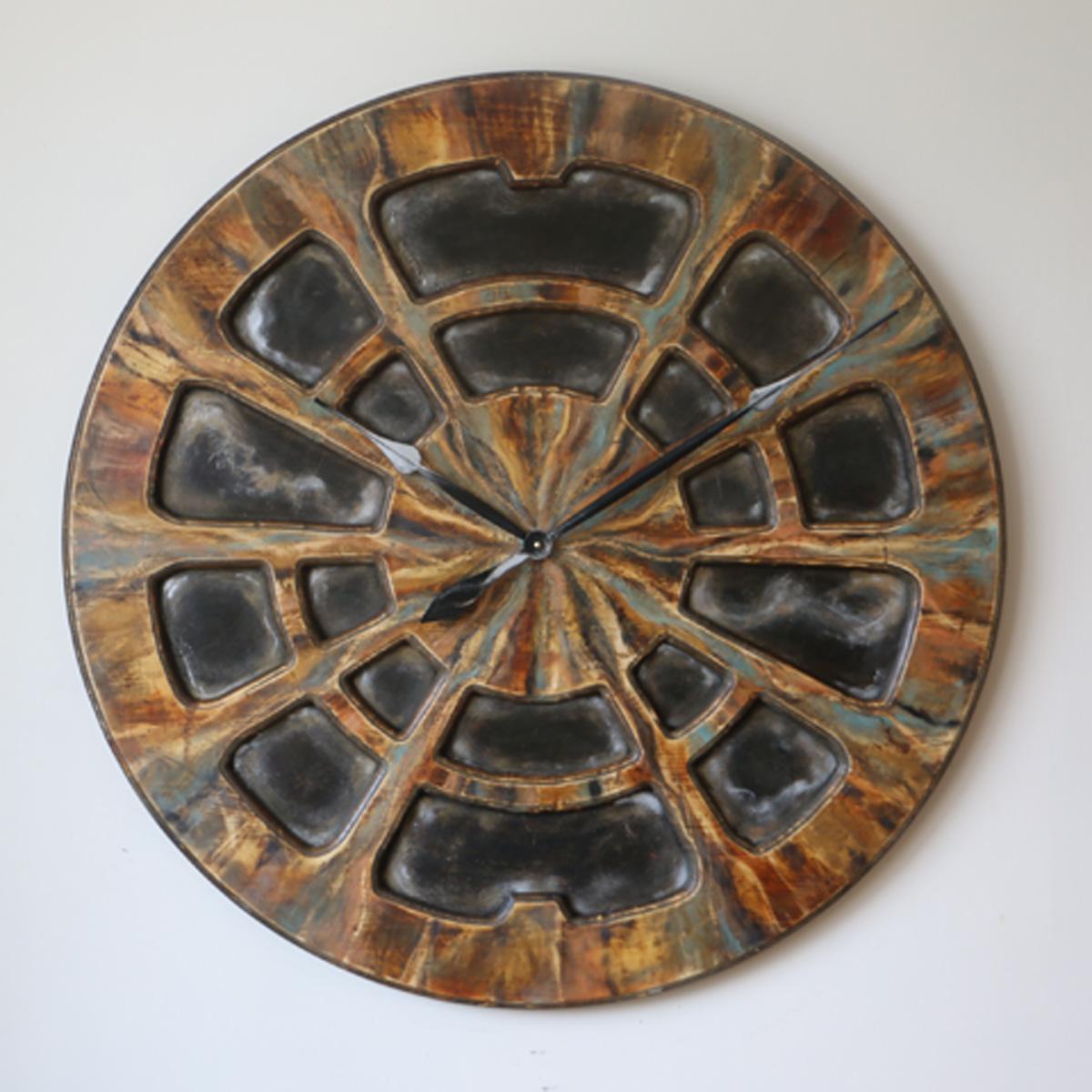 Zegar industrialny na ścianę – przód Cherokee