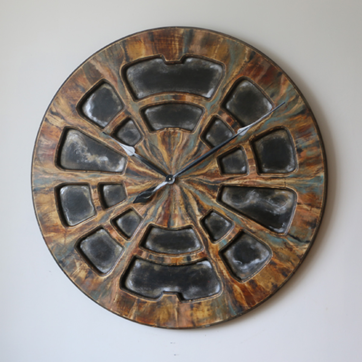 Industrial Clock for Wall- Cherokee Right