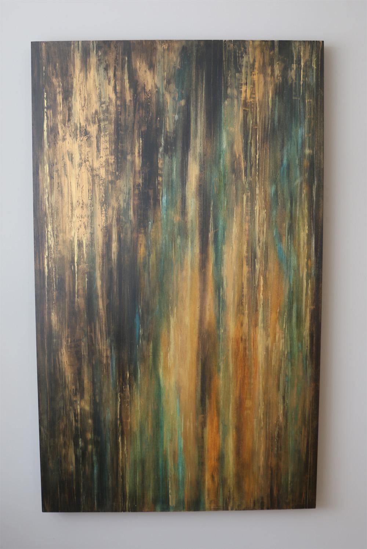 Rectangular Wall Art Canvas Front